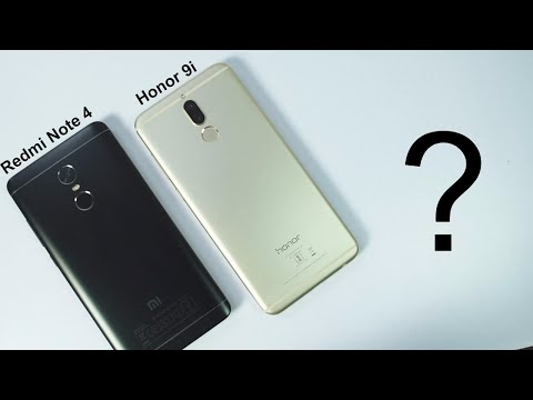 Honor 9i vs Redmi Note 4 Speed test and Memory Management Test