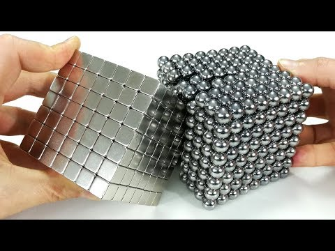 Destroying Magnetic Sculpture, Full Satisfaction | Magnetic Games (видео)