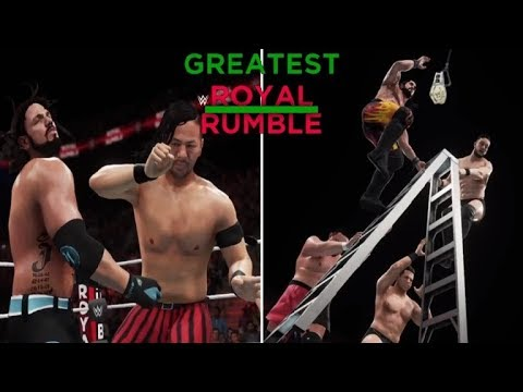 WWE 2K18 GREATEST ROYAL RUMBLE FULL SHOW PREDICTION HIGHLIGHTS - PART 2