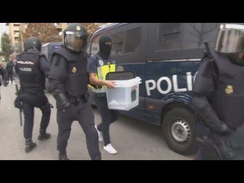 Ένταση στο δημοψήφισμα στην Καταλονία