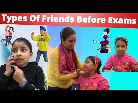 Types Of Friends Before Exams | RS 1313 VLOGS | Ramneek Singh 1313
