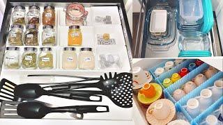 Kitchen Drawer Organization: Outstanding Kitchen Drawer Organization Using IKEA Organizers