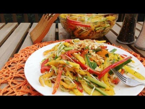 Thai Inspired Mango Salad – GetFitWithLeyla