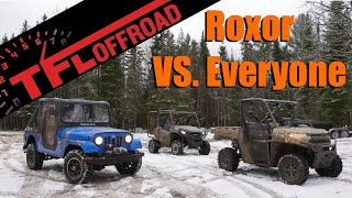 6. Epic Off-Road Smackdown: Can the Classic Mahindra Roxor Beat the Polaris Ranger and Honda Pioneer?