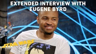 Eugene Byrd, voice of LEGO Star Wars: The Freemaker Adventures' Zander Freemaker, talks with The Star Wars Show's Anthony Carboni in this extended interview. The two discuss Star Wars theories, why Eugene wants to beat up Sam Witwer, and more.Watch more of The Star Wars Show at https://www.youtube.com/playlist?list=PL148kCvXk8pBjG-JOhlIU6rWzLyA2O2anVisit Star Wars at http://www.starwars.comSubscribe to Star Wars on YouTube at http://www.youtube.com/starwarsLike Star Wars on Facebook at http://www.facebook.com/starwarsFollow Star Wars on Twitter at http://www.twitter.com/starwarsFollow Star Wars on Instagram at http://www.instagram.com/starwarsFollow Star Wars on Tumblr at http://starwars.tumblr.com/