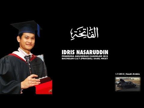 In Memory ..... Idris Nasaruddin - UniKL Chancellor Award