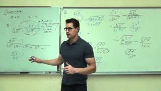 Intermediate Algebra Lecture 10.5