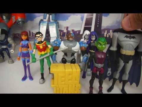 Review da Coleção de Teen Titans (видео)