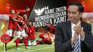 Presiden JOKOWI bangga dengan perjuangan TIMNAS INDONESIA di piala AFF 2016