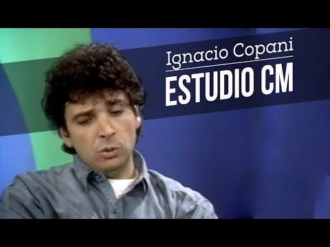 Ignacio Copani video Entrevista + Canciones - Estudio CM 1996