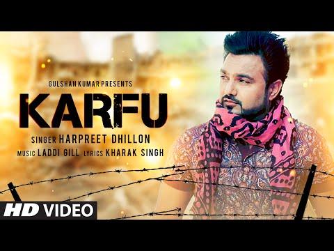 KARFU FULL VIDEO SONG | HARPREET DHILLON | LATEST