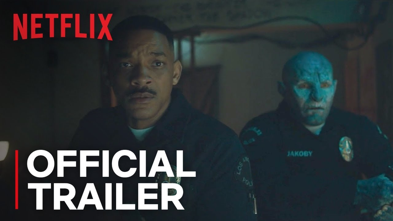 (Trailer) Will Smith & Joel Edgerton Experience a new World in Netflix's Sci-Fi Crime Fantasy 'Bright' with Noomi Rapace