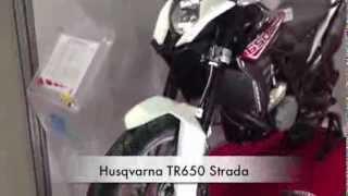 10. Husqvarna TR650 Strada / Motorcycle Show 2013