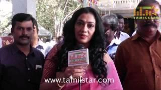 Rekha at Engalukku Veru Engum Kilaigal Kidaiyaathu Movie Launch
