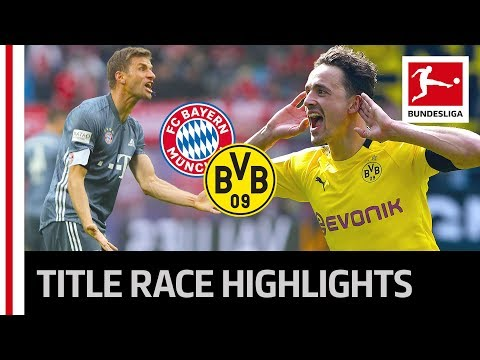 Title Race Drama - Dortmund Strike Back and Bayern Drop Points Against RB Leipzig