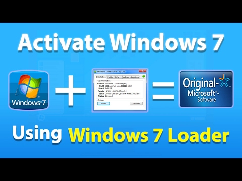 Windows 7 Loader Activator by Daz 262 Updated 2017