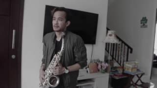 Afgan - Bukan Cinta Biasa (alto saxophone cover by Christian Ama) Video