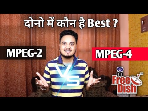 DD Free Dish | What is Difference between MPEG-2 Vs MPEG-4 Set Top Box🔥🔥| MPEG-2 Vs H264 |