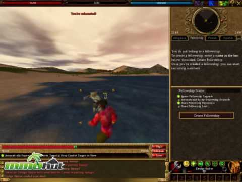Asheron's Call Gameplay Footage