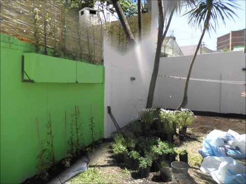 Dise o de jard n en vivienda reciclada for Jardines secos diseno