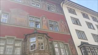 Schaffhausen Switzerland  City pictures : مدينة شافهاوزن و شلالات الراين في سويسرا schaffhausen switzerland