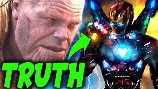 Video CONFIRMED: THE REAL REASON WHY Tony Stark is The Only Avenger Thanos FEARS in EndGame! MP3, 3GP, MP4, WEBM, AVI, FLV Mei 2019
