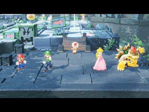 SUPER MARIO PARTY Gameplay Demo E3 2018 - Nintendo E3 2018 Demo