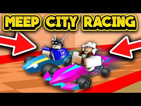 MEEP CITY RACING! (ROBLOX MeepCity)