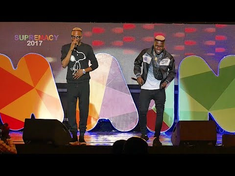 9ICE & JUNIOR BOY THRILL FANS AT THE SUPREMACY CONCERT 2017