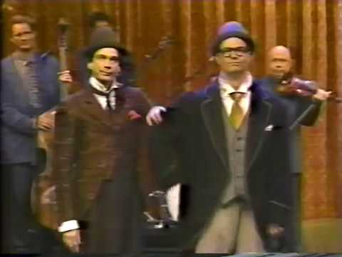 Bill Irwin - The tremendous pairing of two of the world's greatest clowns. They had a big hit with this in '93 on Broadway and toured it all over. What a team!