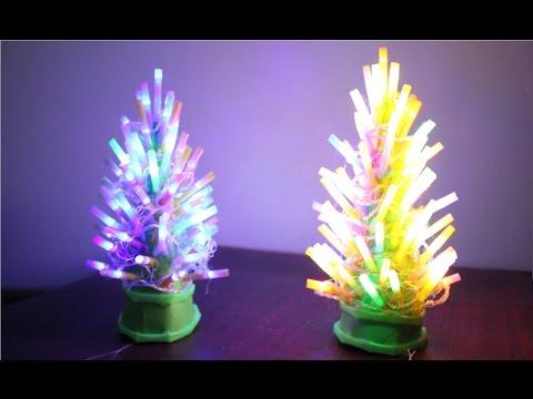 come fare una lampada psichedelica a forma di albero di natale