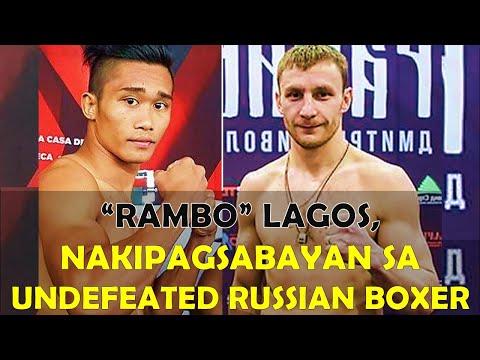 """""""Rambo"""" Lagos Nakipagsabayan sa Undefeated Russian Boxer!"""