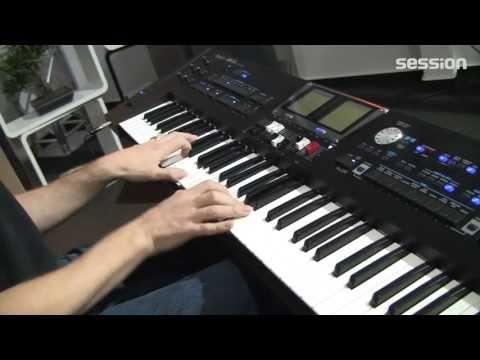 roland - http://www.session.de/ROLAND-BK-9.html Roland BK-9: Tasten: 76 Klangfarben: 1700 Drum-Kits: 70 Rhythmen: 540 Begleitautomatik Virtual Tonewheel Zugriegelsekt...
