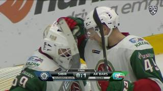 Ak Bars 1 Sibir 0, 22 October 2018