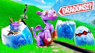*NEW* DRAGONS ARE COMING! - Fortnite Funny WTF Fails and Daily Best Moments Ep.954