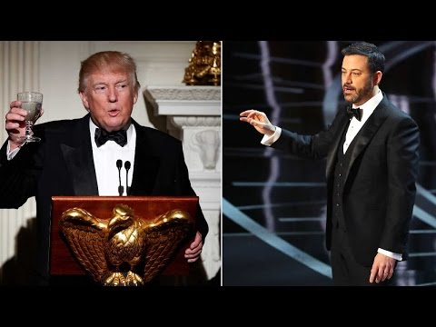 Oscars 2017: Jimmy Kimmel mocks Donald Trump