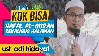Video Kenapa Ustadz Bisa Hafal Al-Qur'an Sekaligus Halamannya? - Ceramah Terbaru Ustadz Adi Hidayat LC MA MP3, 3GP, MP4, WEBM, AVI, FLV Mei 2019