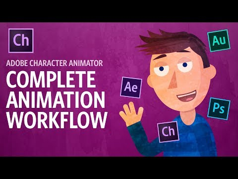 Complete Animation Workflow (Adobe Character Animator Tutorial)