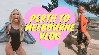 PERTH TO MELBOURNE VLOG | Amy-Jane Brand