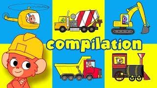 Video Construction Video For Kids   Crane, Trucks and Vehicles Cartoon Compilation   Movies for kids MP3, 3GP, MP4, WEBM, AVI, FLV September 2018