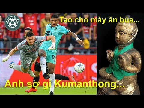 Thủ môn Văn Lâm phản dame cực gắt ở Muangthong United bất chấp đối thủ có bùa Kumanthong Thái Lan @ vcloz.com