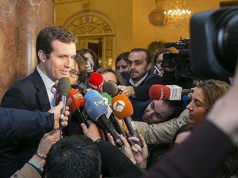 """Casado: """"El futuro de Cataluña no pasa por Bruselas"""""""