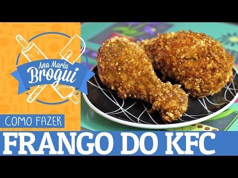 Receitas Salgadas - COMO FAZER FRANGO DO KFC  Ana Maria Brogui #13