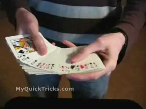 CARD - http://www.MyQuickTricks.com Be like David Blaine and perform awesome card tricks. Card Tricks Revealed right now in the amazing video. Enjoy!