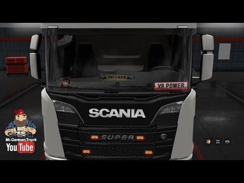 Lighting Gedons for all Trucks v3.0 + New Scania S & R