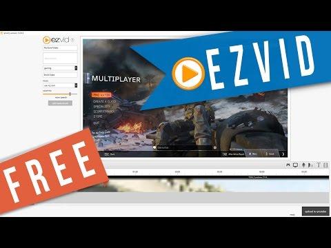 """Ezvid"" Free Screen Capture/Editing - Review & Tutorial"