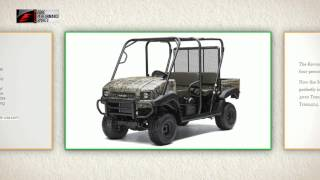 10. 2014 Kawasaki Mule 4010 4x4 Review Oregon