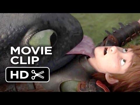 How To Train Your Dragon 2 Movie CLIP - Dragon Kisses (2014) - Gerard Butler Sequel HD