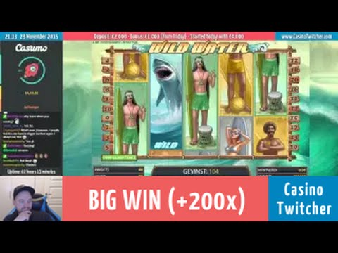 Wild Water - BIG WIN - Bet size: €0.40