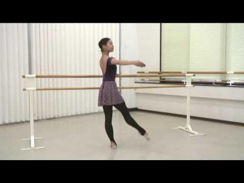 バレエが上達する練習法!橘るみのバレエレッスン!